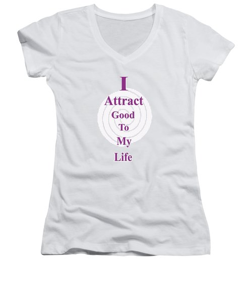 I Attract Women's V-Neck (Athletic Fit)