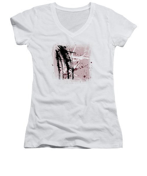 I Have To Believe Women's V-Neck T-Shirt (Junior Cut) by Melissa Smith