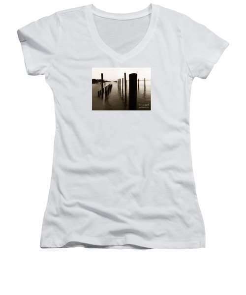 I Miss You  Women's V-Neck T-Shirt