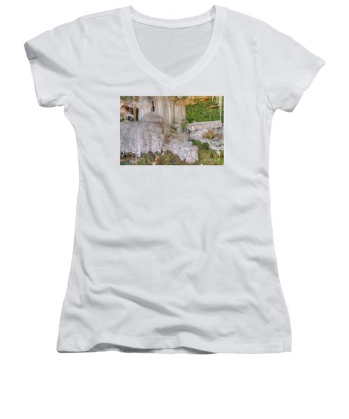 Ice Formations Women's V-Neck
