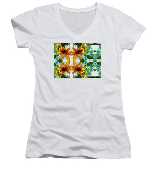 Illusions Women's V-Neck T-Shirt