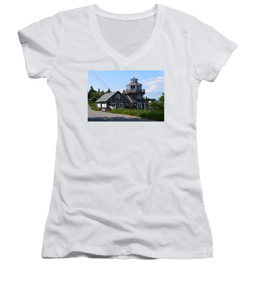 Images Of Maine 4 Women's V-Neck T-Shirt