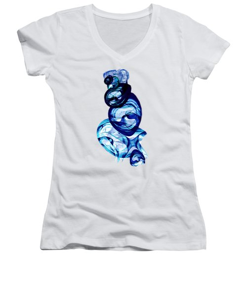 Immiscible Women's V-Neck T-Shirt (Junior Cut) by Anastasiya Malakhova