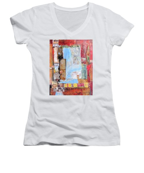 Imperialism Women's V-Neck T-Shirt