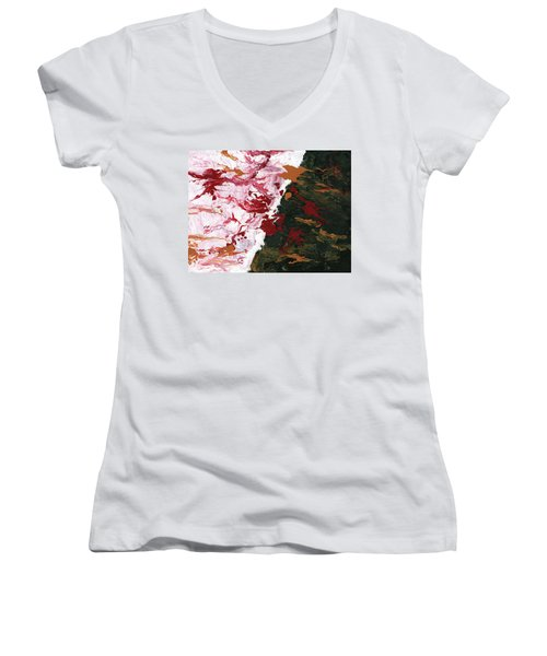 In A Moment Women's V-Neck