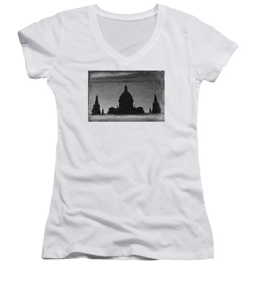 In A Puddle Women's V-Neck