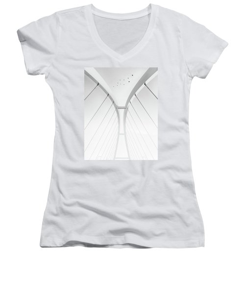 In Between It All Women's V-Neck T-Shirt
