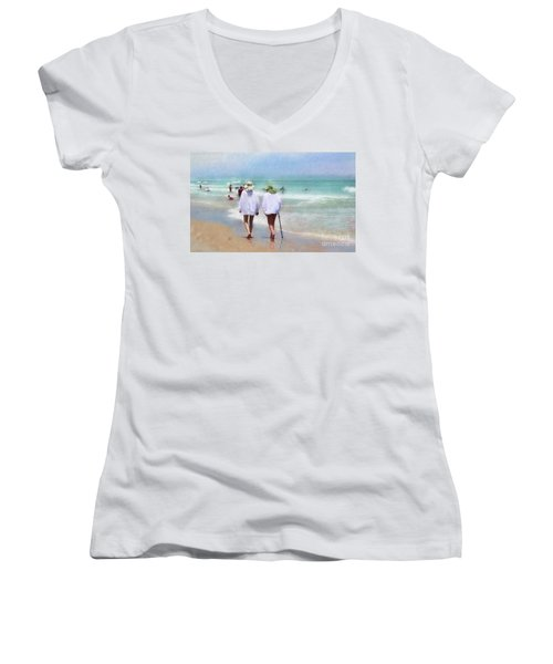 In Step With Life Women's V-Neck (Athletic Fit)
