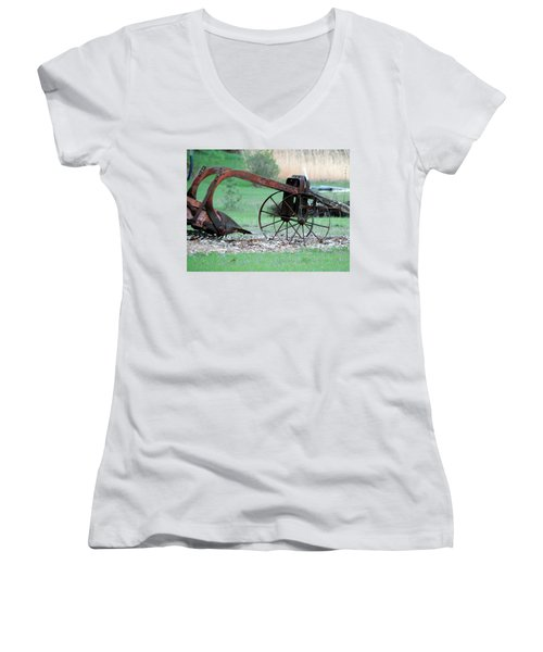 In The Rust Home Women's V-Neck