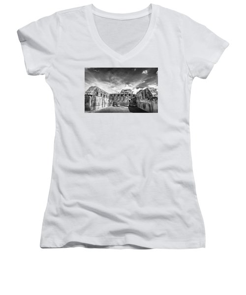 Inca Walls. Women's V-Neck