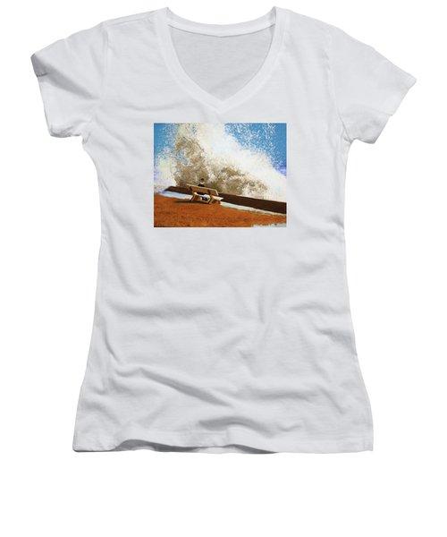 Incoming Women's V-Neck T-Shirt