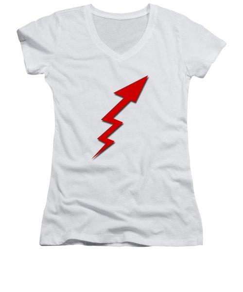 Increase Arrow Women's V-Neck