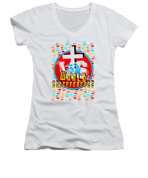 Indifference Women's V-Neck