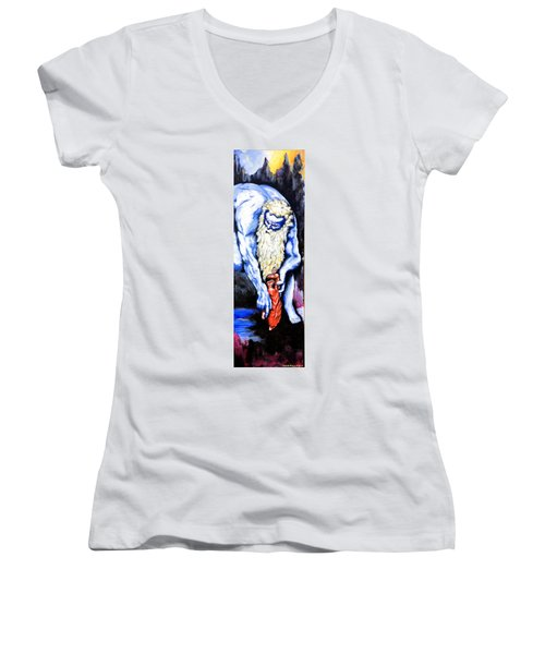 Inferno Women's V-Neck T-Shirt