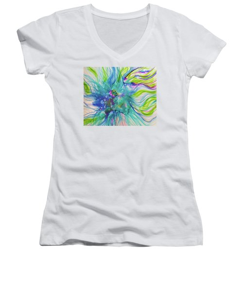 Infinite Unknowns Women's V-Neck (Athletic Fit)