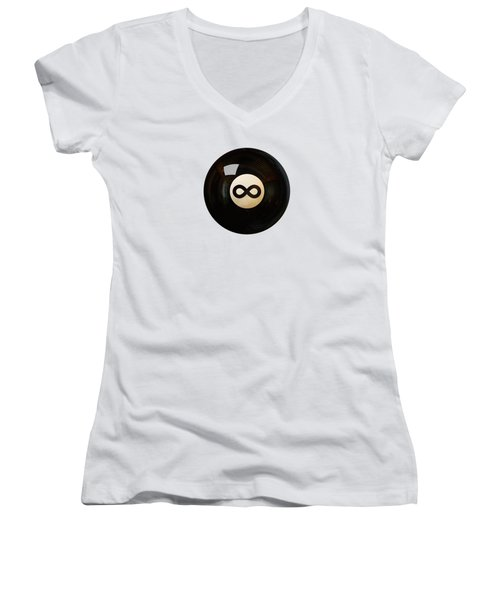Infinity Ball Women's V-Neck (Athletic Fit)