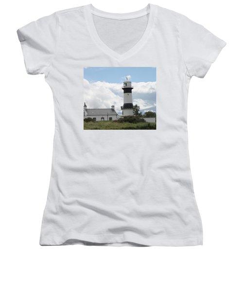 Inishowen Lighthouse Women's V-Neck