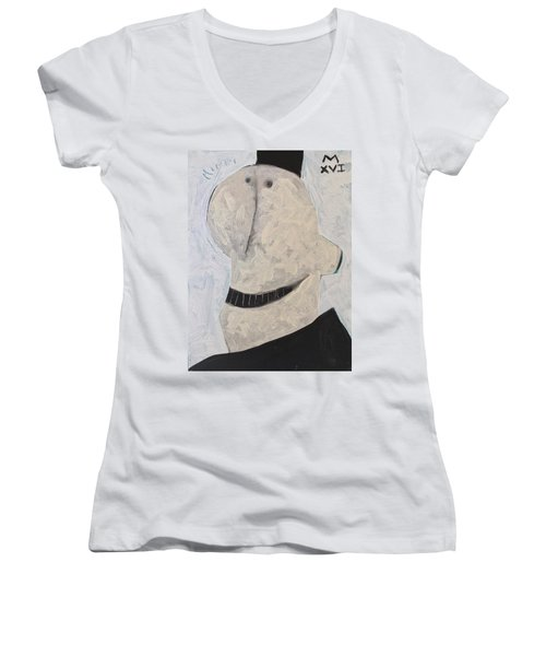 Inquisitors No 2  Women's V-Neck T-Shirt (Junior Cut)