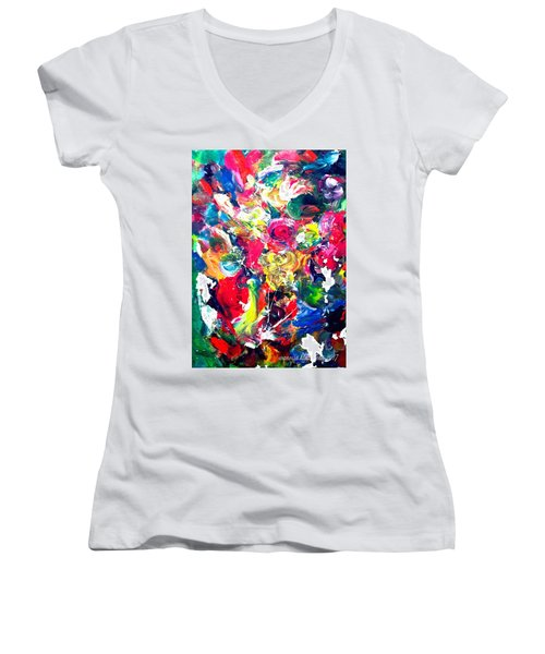 Inside My Mind 3 Women's V-Neck (Athletic Fit)