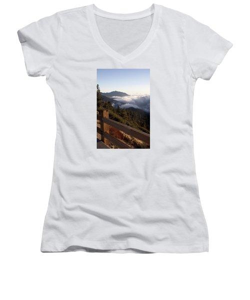 Inspiration Point Women's V-Neck T-Shirt