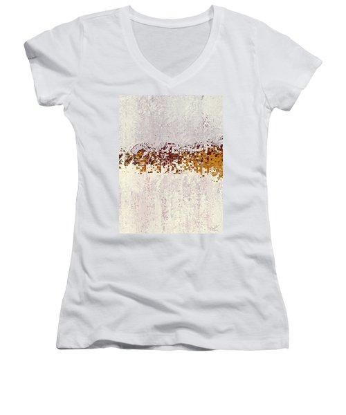 Insync 2 Women's V-Neck T-Shirt (Junior Cut) by The Art Of JudiLynn