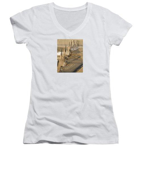 Intersection Women's V-Neck T-Shirt