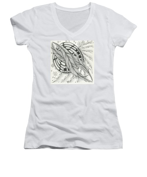 Into Orbit Women's V-Neck