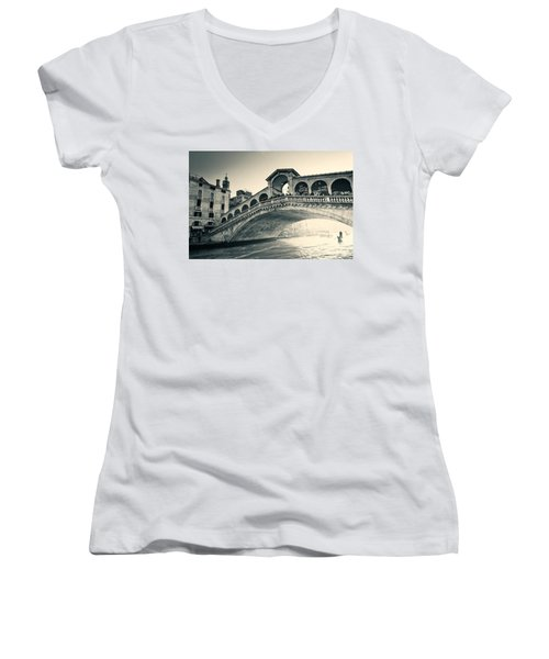 Invasion During The Dawn Women's V-Neck