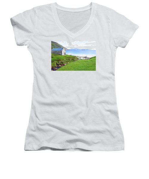 Irish Treasures.. Past And Present Women's V-Neck T-Shirt