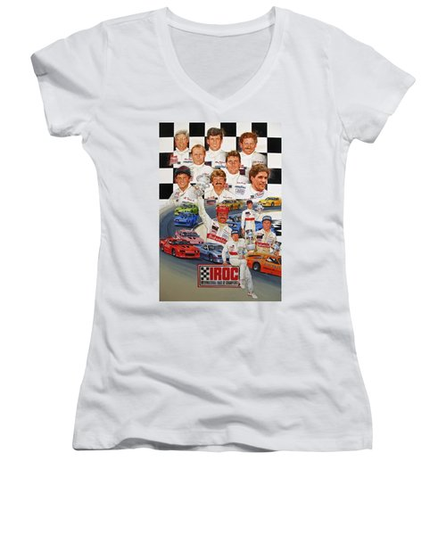 Iroc Racing Women's V-Neck (Athletic Fit)
