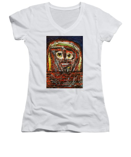Isolation   Women's V-Neck T-Shirt