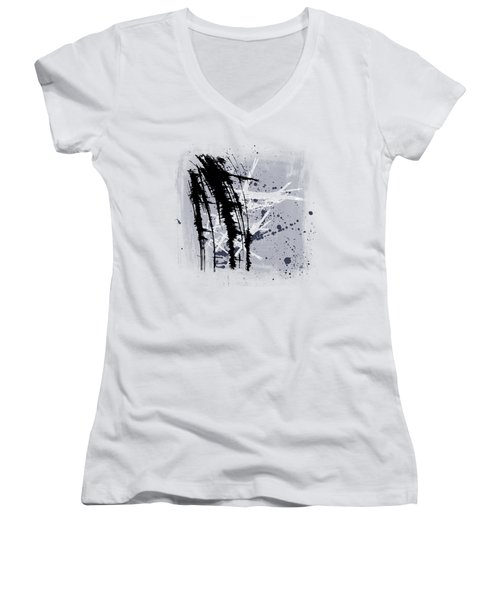 It Is Your Turn Women's V-Neck T-Shirt (Junior Cut) by Melissa Smith