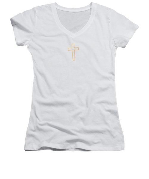 It's Never Too Late Jesus Loves You Women's V-Neck