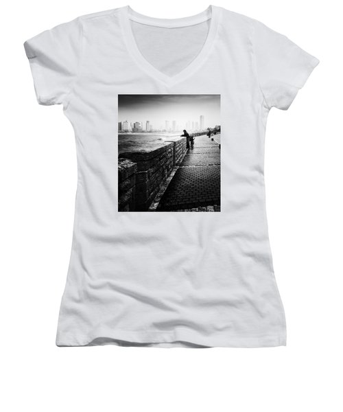 Jaffa Port Women's V-Neck T-Shirt