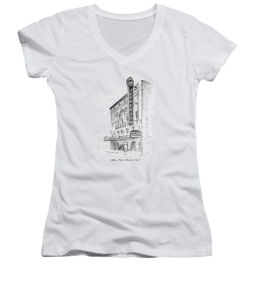 Jefferson Theatre Women's V-Neck
