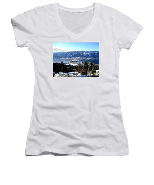 Jewel Of The Okanagan Women's V-Neck