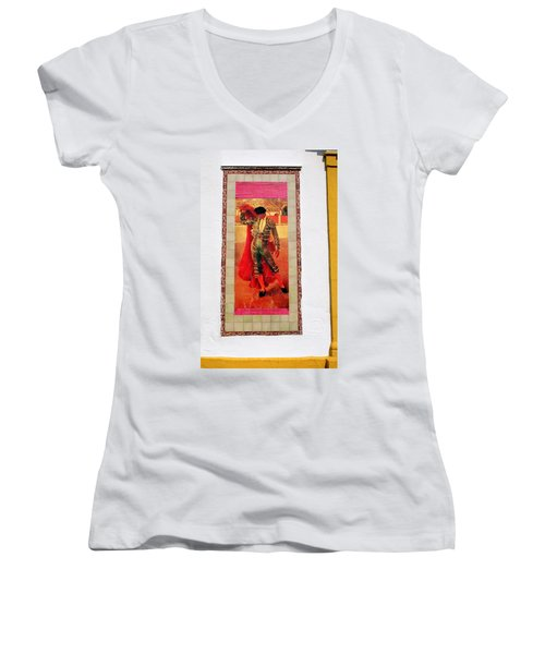 Jose Gomez Ortega Women's V-Neck T-Shirt