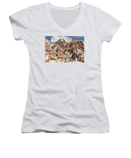 Joshua Tree National Park - Natural Monument Women's V-Neck T-Shirt