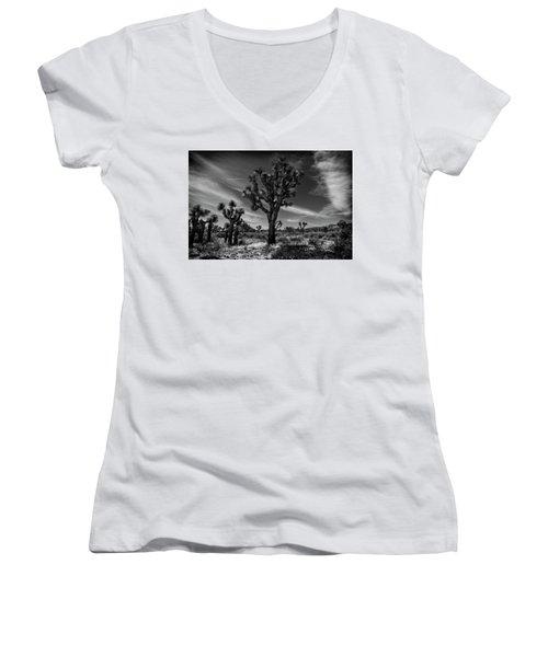 Joshua Trees Series 9190678 Women's V-Neck