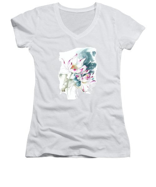 Journey For Two Women's V-Neck T-Shirt