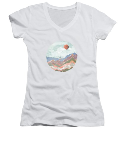 Journey To The Clouds Women's V-Neck (Athletic Fit)