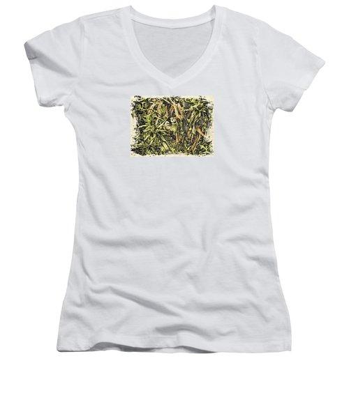 Jungle George Women's V-Neck