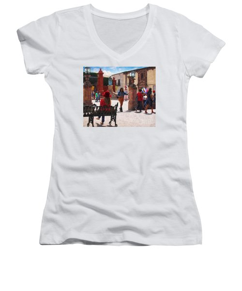 Just Before The Wedding Women's V-Neck T-Shirt