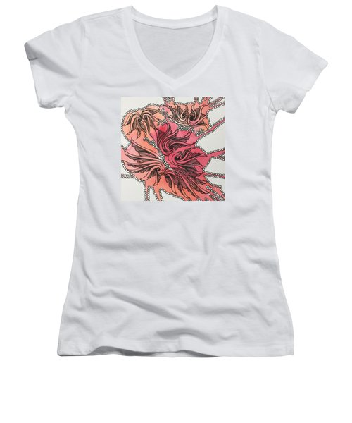 Just Wing It Women's V-Neck