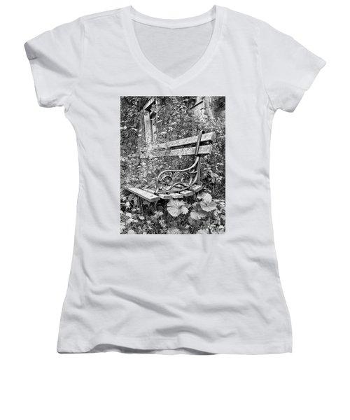 Just Yesterday Women's V-Neck T-Shirt