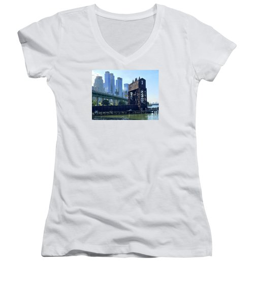 Juxtaposition Women's V-Neck T-Shirt