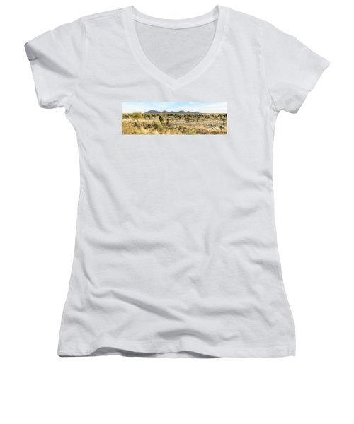 Women's V-Neck T-Shirt featuring the photograph Kata Tjuta 03 by Werner Padarin