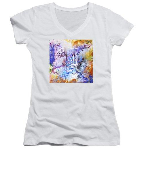 Katba A  Women's V-Neck T-Shirt