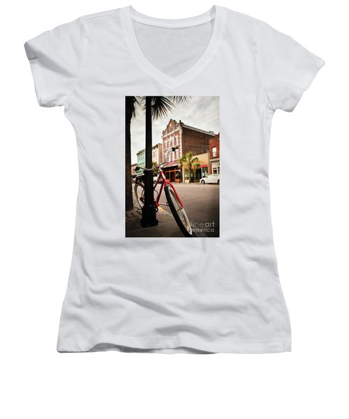 King Street Charleston Sc  -7436 Women's V-Neck