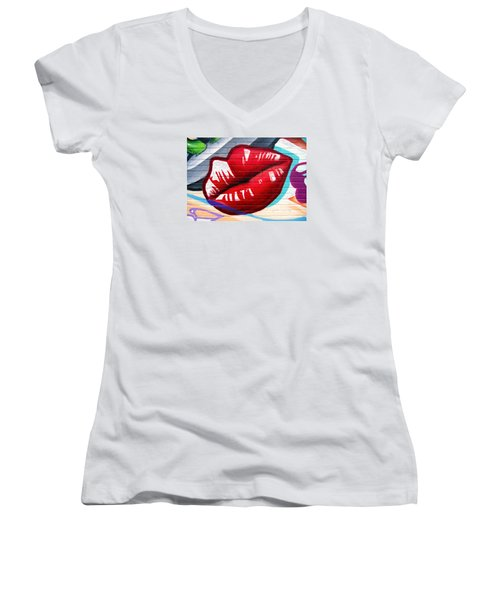 Kiss Me Now ... Women's V-Neck